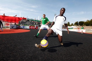 Homeless World Cup Ireland vs Ghana